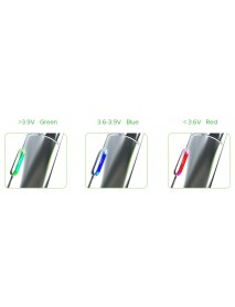 Baterie Vapeonly USB 1100mAh cu lanterna LED